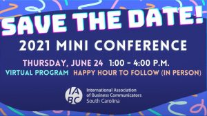 Mini Conference Save the Date for 2021